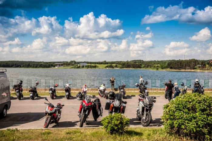Wiosna z Ducati 2018 nad jeziorem