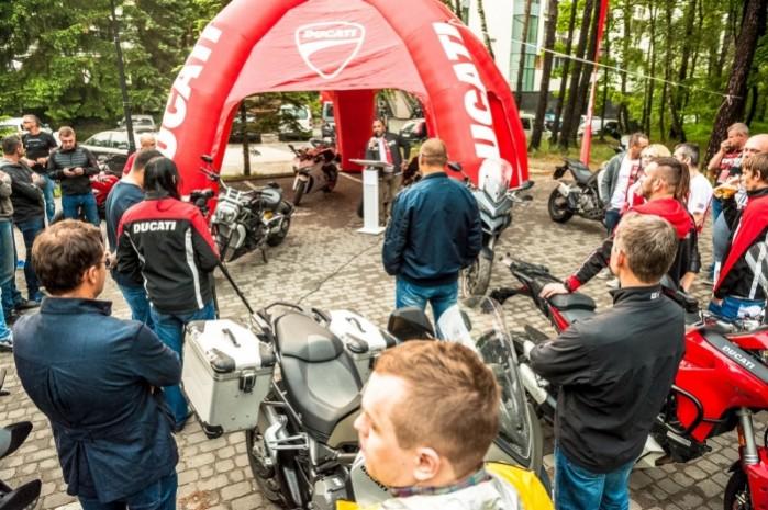 Wiosna z Ducati 2018 namiot
