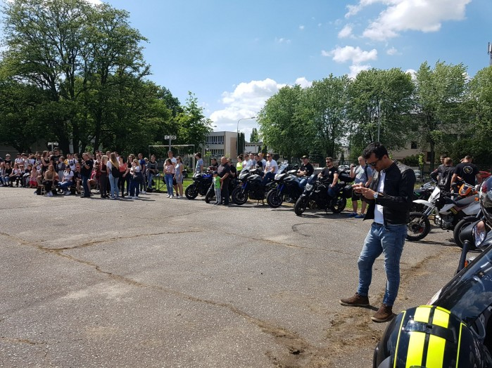 Konkurs motocyklowy dla mlodziz zy w Zdunskiej Woli 04