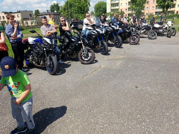 Konkurs motocyklowy dla mlodziz zy w Zdunskiej Woli 06