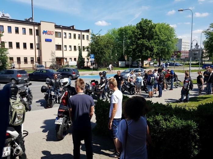 Konkurs motocyklowy dla mlodziz zy w Zdunskiej Woli 15