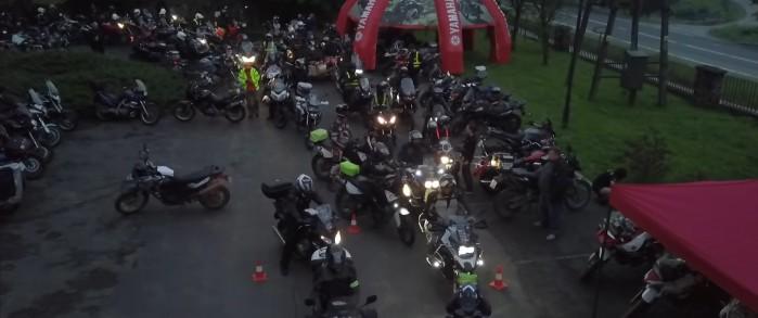 III Bieszczadzki Rajd Motocyklowy Yamaha