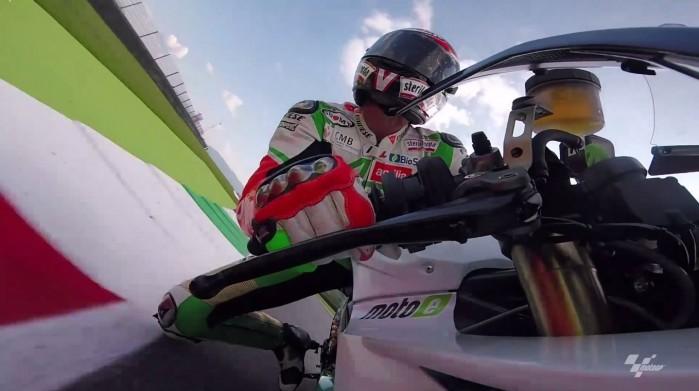 Max Biaggi testuje motocykl klasy MotoE
