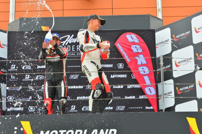 Campeonato Interautonomico de Velocidad podium