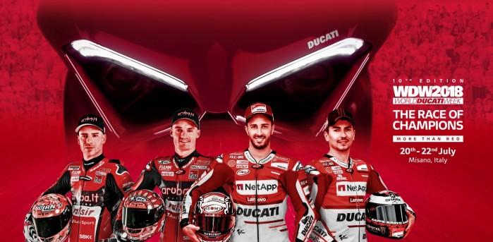 World Ducati Week 2018 gwiazdy