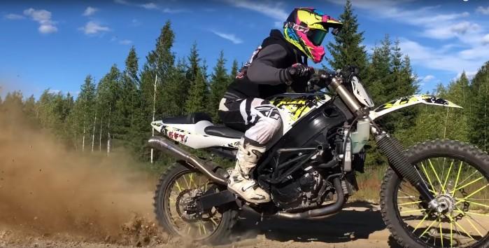 SUZUKI GSX R Dirt Bike 1000cc