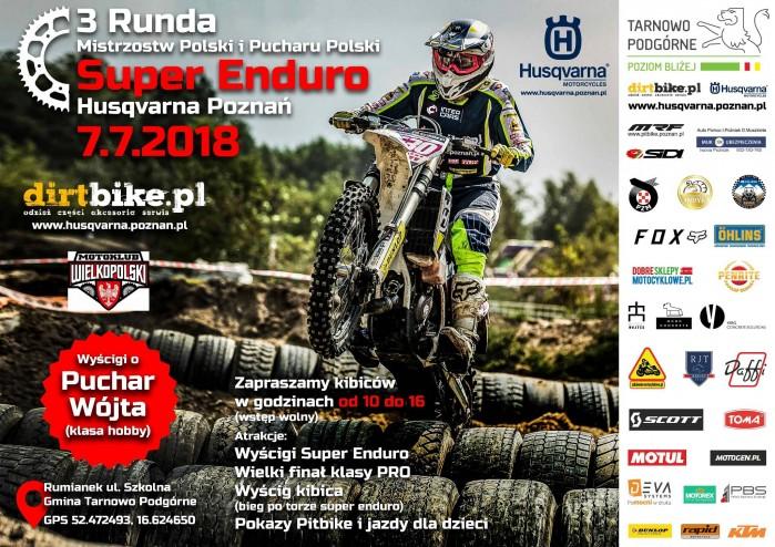 Plakat Super Enduro Husqvarna Pozna