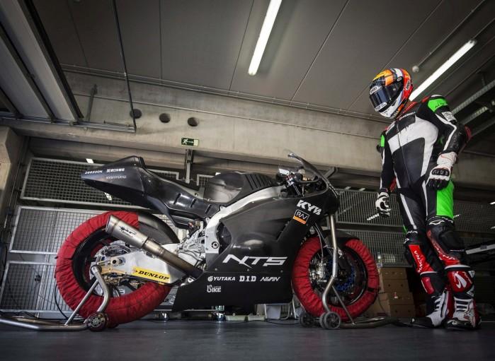 Moto2 Triumph testing 2019 05