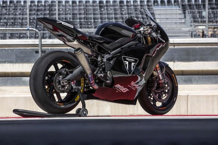 Moto2 Triumph testing 2019 09