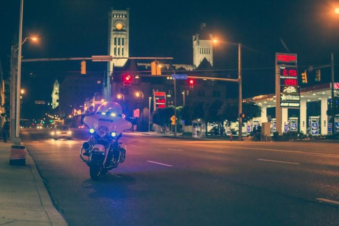 policja stacja paliw