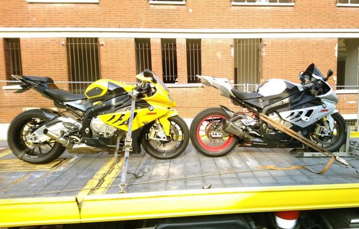 Dwa BMW S1000RR skonfiskowane