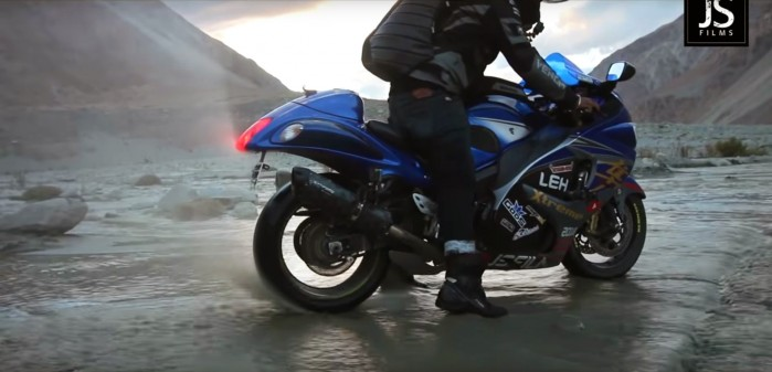 Riding Hayabusa to Leh Ladakh Leh Xtreme 2018