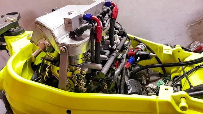 Suzuki GSX R 1000 K4 Turbo 4
