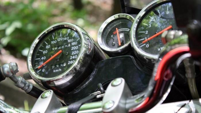 Suzuki Bandit 1200 1997 zestaw wskaznikow z 1