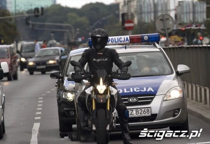 policja Protest
