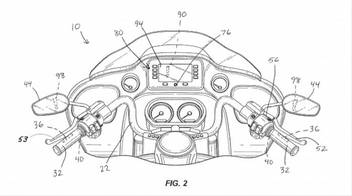 072518 Harley Davidson emergency braking patent fig 2 633x352