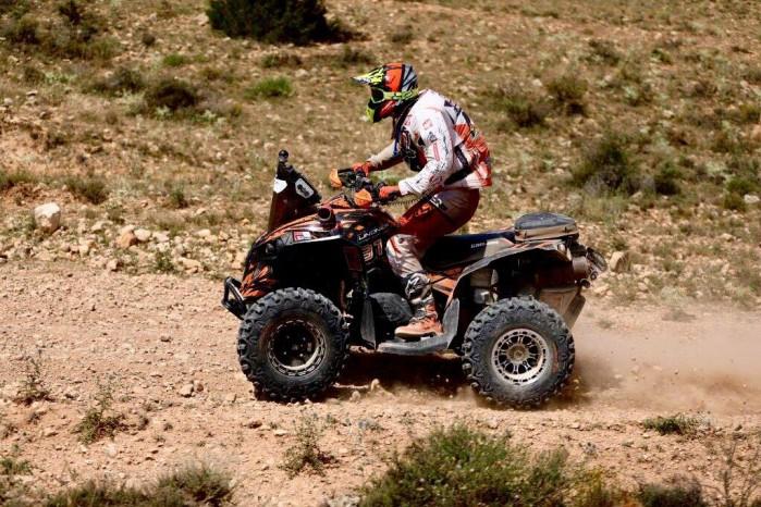 Bajas FIM World Cup 2018 Arkadiusz Lindner Baja Aragon