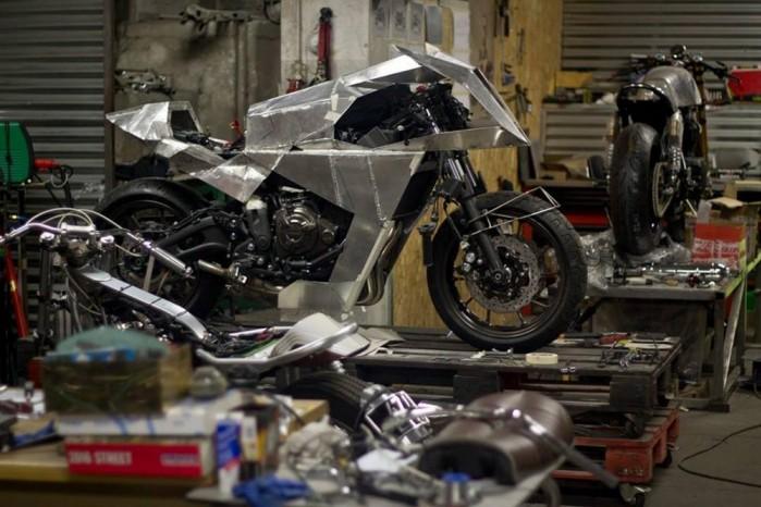 Yamaha XSR 700 Outrun 7