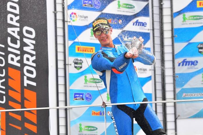 Piotr Biesiekirski podium