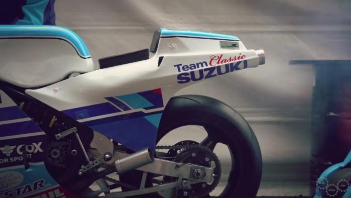 Team Classic Suzuki RG 500