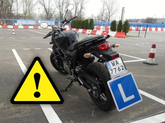 Bledy egzamin prawo jazdy