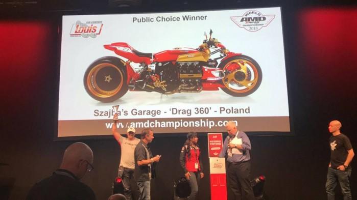 Szajba AMD World Championship of Custom Bike Building