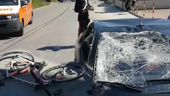 Wypadek Nicky Hayden na rowrze Rimini W ochy 2017