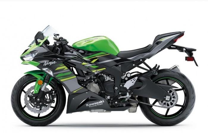 Kawasaki zx 6R 2019 13