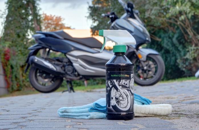 NoWet GreenWay czyszczenie motocykla 3