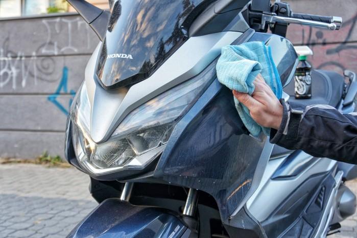 NoWet GreenWay czyszczenie motocykla 5