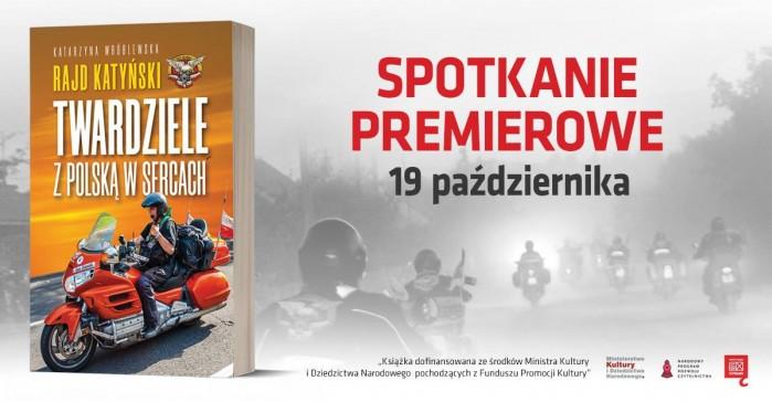 Premiera ksiazki o Rajdzie Katynskim