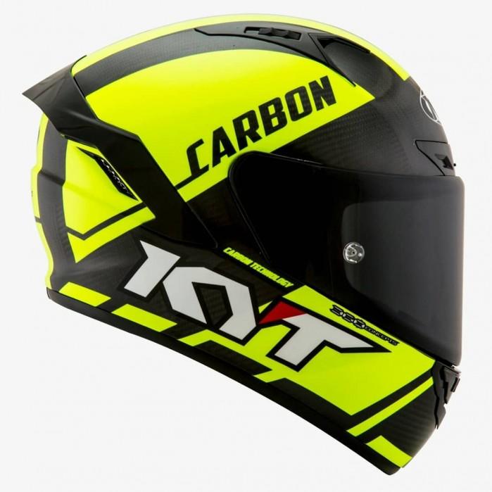 KYT NX Race Carbon Fluo P7