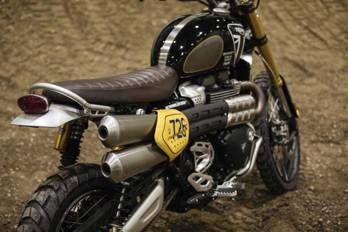 Baja 1000 Triumph Scrambler 1200 Race bike 5