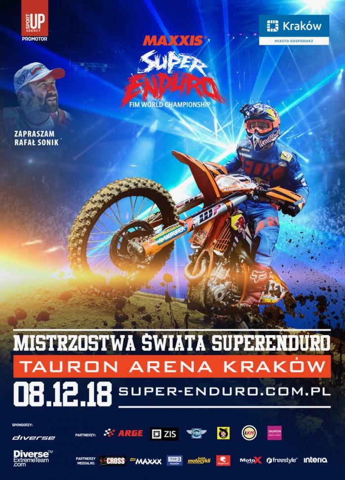 Mistrzostwa Swiata SuperEnduro plakat