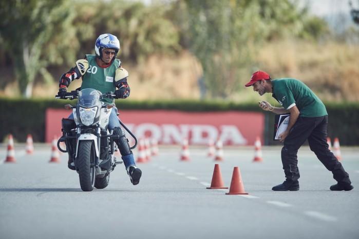 Zaawansowany kurs motocyklowy Instytut Bezpieczenstwa Hondy