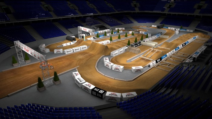 Mistrzostwa Swiata SuperEnduro wizualizacja toru 4