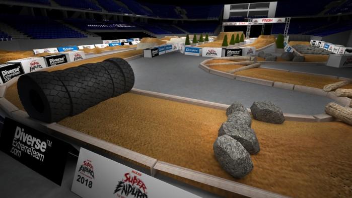 Mistrzostwa Swiata SuperEnduro wizualizacja toru 5