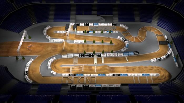Mistrzostwa Swiata SuperEnduro wizualizacja toru 6