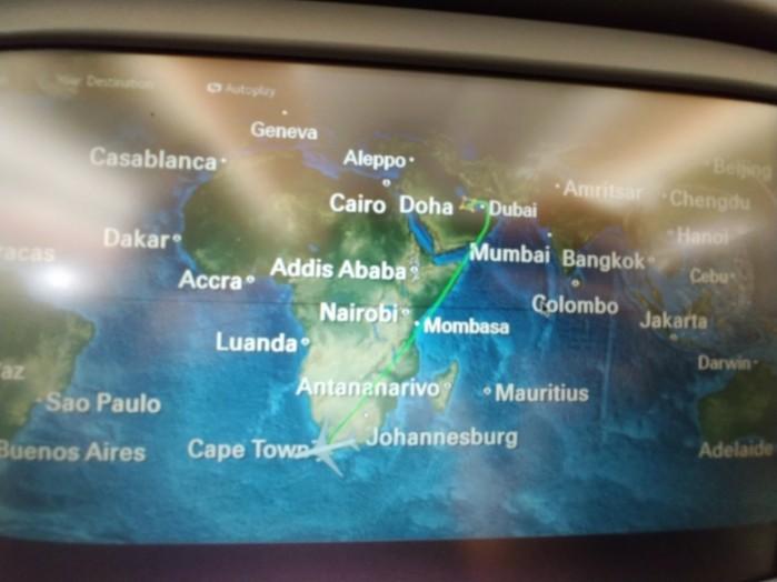 droga do Cape Town z przesiadka w Doha