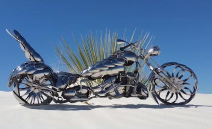 motocykl ze sztuccow