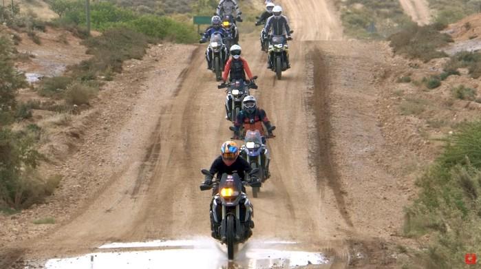 Safari na motocyklach