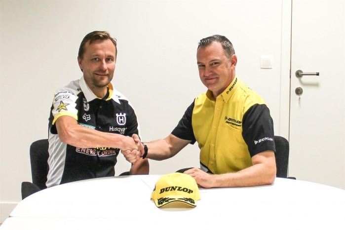 Rockstar Energy Husqvarna Factory Racing MXGP partnerem Dunlop