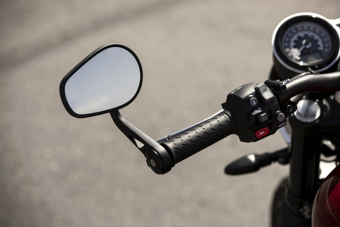 2019 Speed Twin BAR END MIRRORS