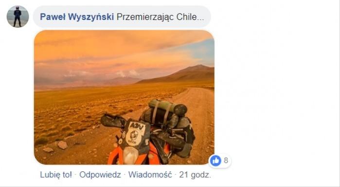 Przemierzając Chile