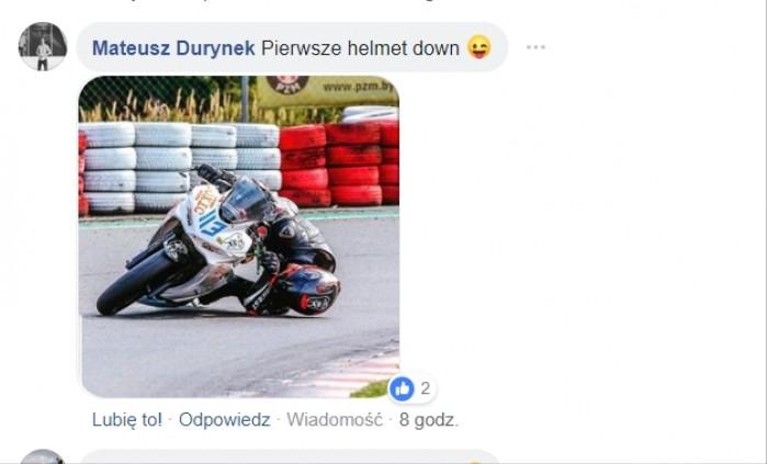 Pierwsze helmet down