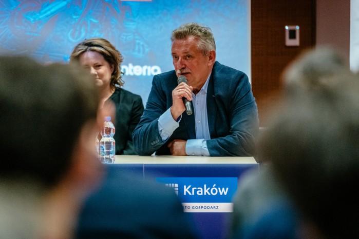 Mistrzostwa Swiata SuperEnduro konferencja prasowa K Kowal