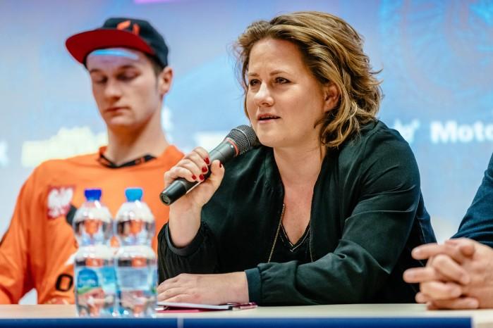 Mistrzostwa Swiata SuperEnduro konferencja prasowa M Marcin ska