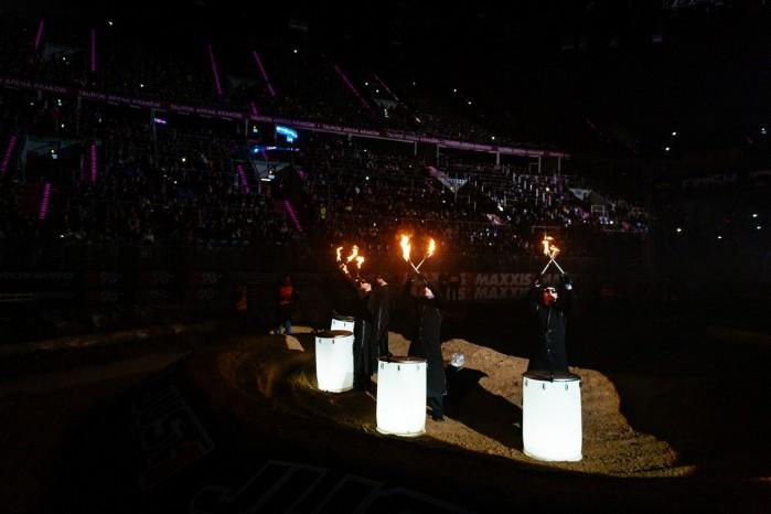 Mistrzostwa Swiata SuperEnduro ceremonia otwarcia 2