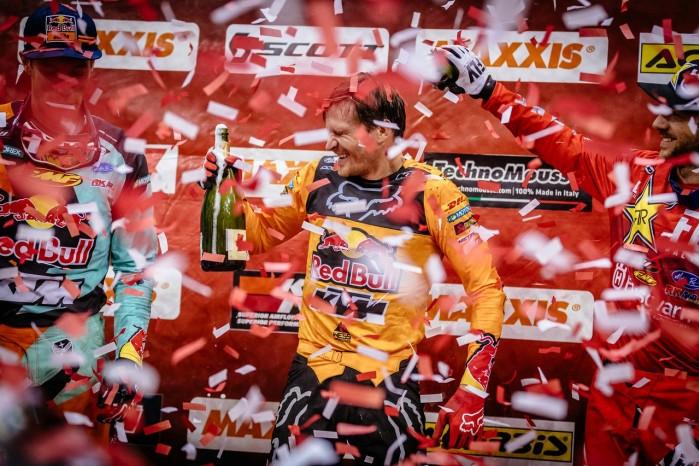 Mistrzostwa Swiata SuperEnduro podium Prestige 1