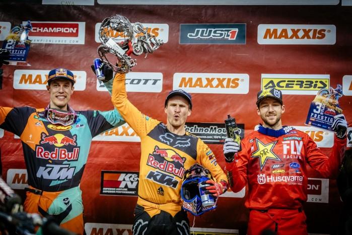 Mistrzostwa Swiata SuperEnduro podium Prestige 2
